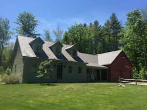 Enviroshake roof installation in Londonderry, Vermont